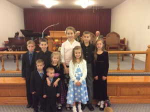 Happy to have visitors in our Sunday School from the Church of God in Hagerstown Maryland.
