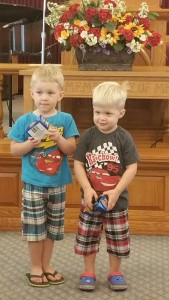 Our newest and youngest students had perfect attendance for August.