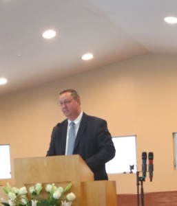 Bro. Doug Koerner at The Church of God camp meeting Escondido CA.
